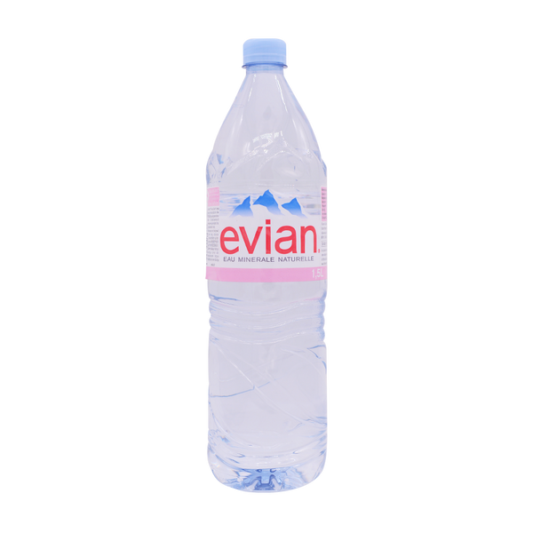 Evian Natural Still Water 1.5 Ltr - Longdan Online Supermarket