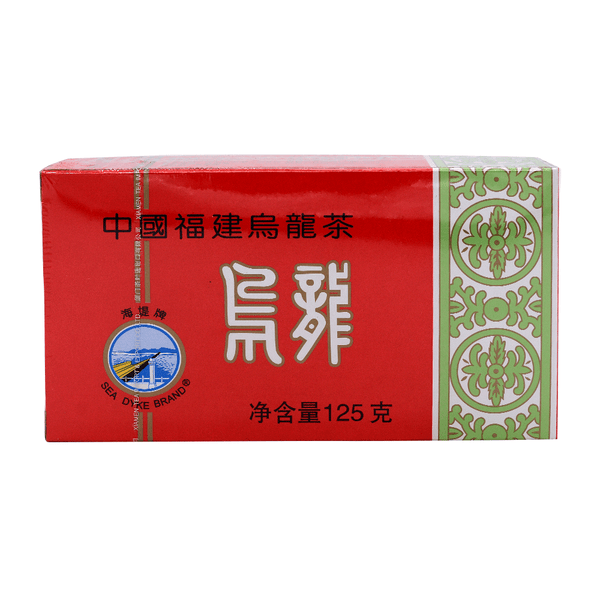 Seadyke Fujian Oolong Tea 125g - Longdan Offical Online Store - UK Cash & Carry