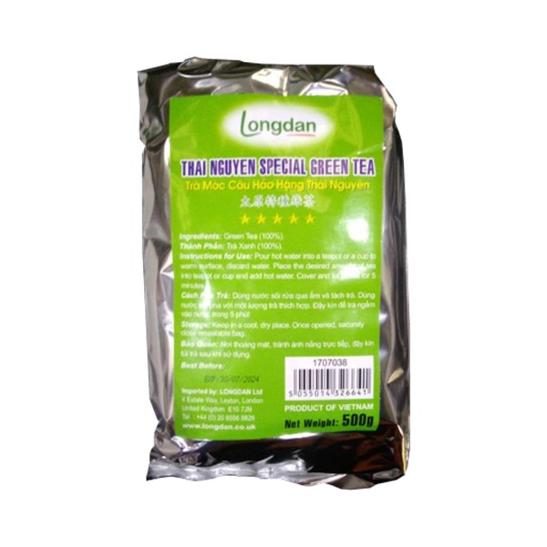 Longdan Thai Nguyen Special Green Tea 500g - Longdan Offical Online Store - UK Cash & Carry