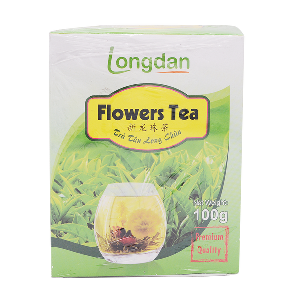LD Flower Tea/Tra Tan Long Chau 100g - Longdan Offical Online Store - UK Cash & Carry