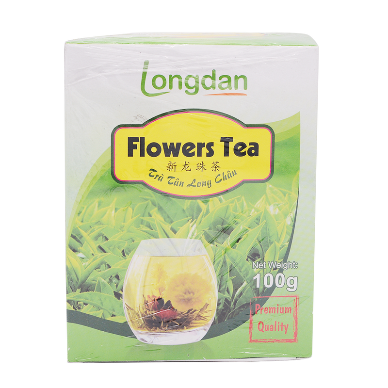 Longdan Flower Tea/Tra Tan Long Chau 100g - Longdan Online Supermarket