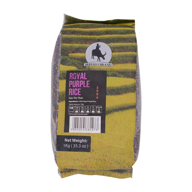 Longdan Royal Purple Rice 1KG (Gao Luc Tim Than) - Longdan Offical Online Store - UK Cash & Carry