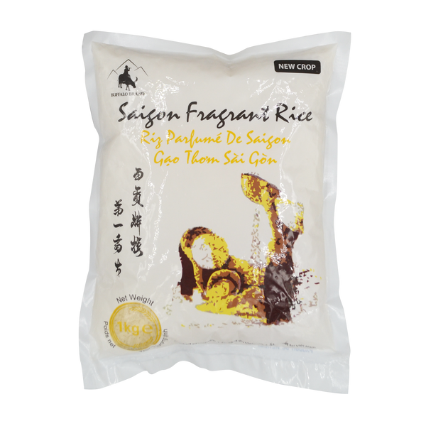 Buffalo Saigon Fragrant Rice 1kg - Longdan Online Supermarket
