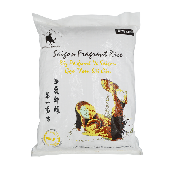 Buffalo Saigon Fragrant Rice 10kg - Longdan Online Supermarket