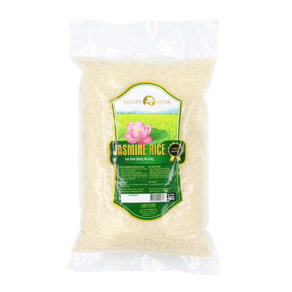 Golden Lotus Rice 5kg - Longdan Online Supermarket