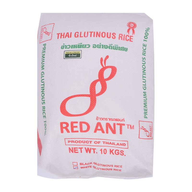 Red Ant Glutinous Rice 10kg - Longdan Offical Online Store - UK Cash & Carry