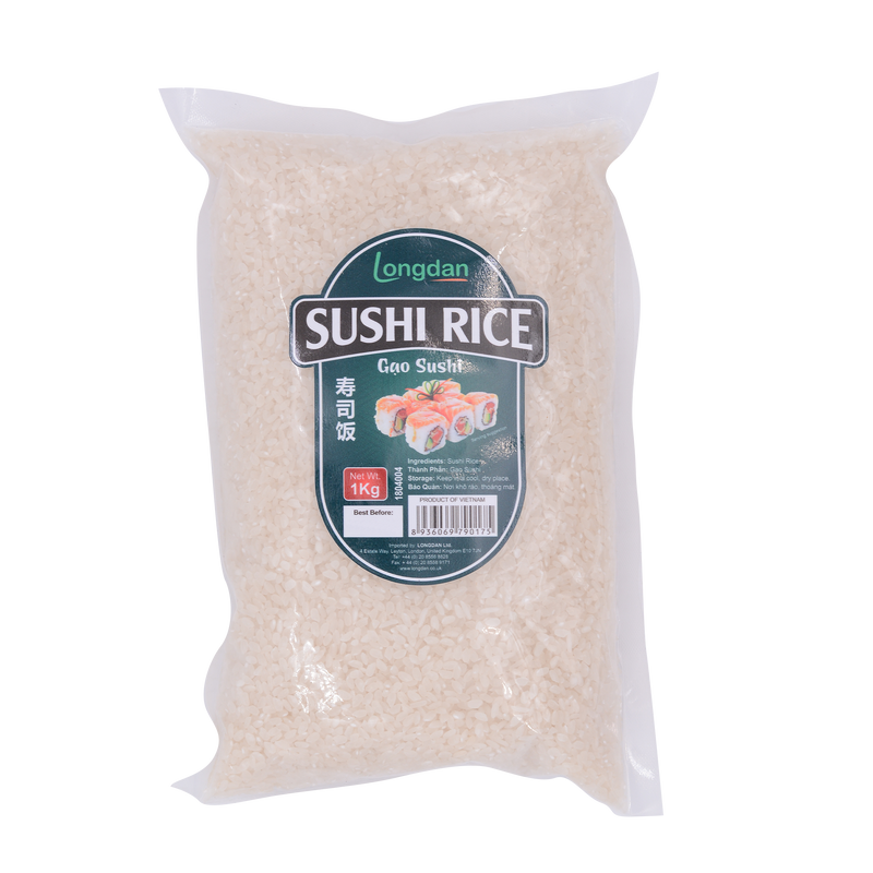 Longdan Sushi Rice 1 kg - Longdan Offical Online Store - UK Cash & Carry