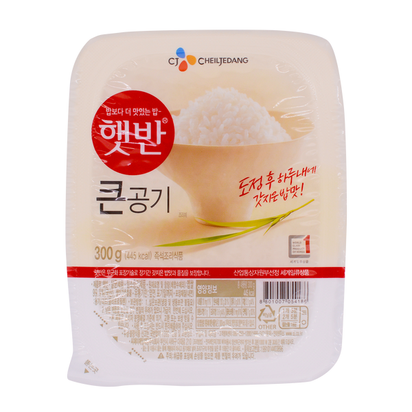 Cheil Jedang Cooked Rice 300g - Longdan Offical Online Store - UK Cash & Carry