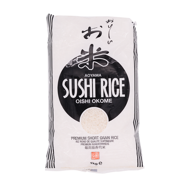 Aoyama Sushi Rice Short Grain 1kg - Longdan Offical Online Store - UK Cash & Carry