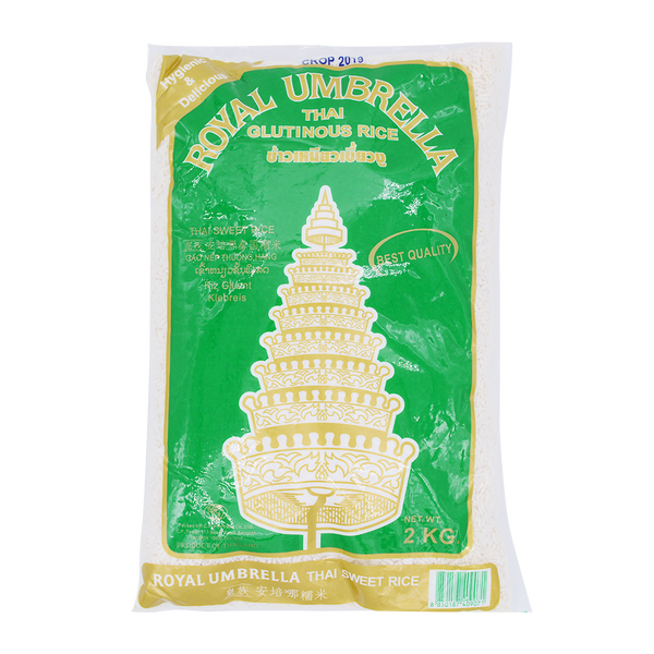 Royal Umbrella Thai Glutinous Rice 2kg - Longdan Online Supermarket