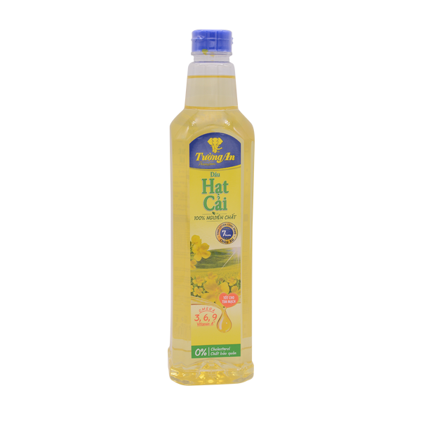 Tuong An Canola Oil 1000Ml - Longdan Offical Online Store - UK Cash & Carry