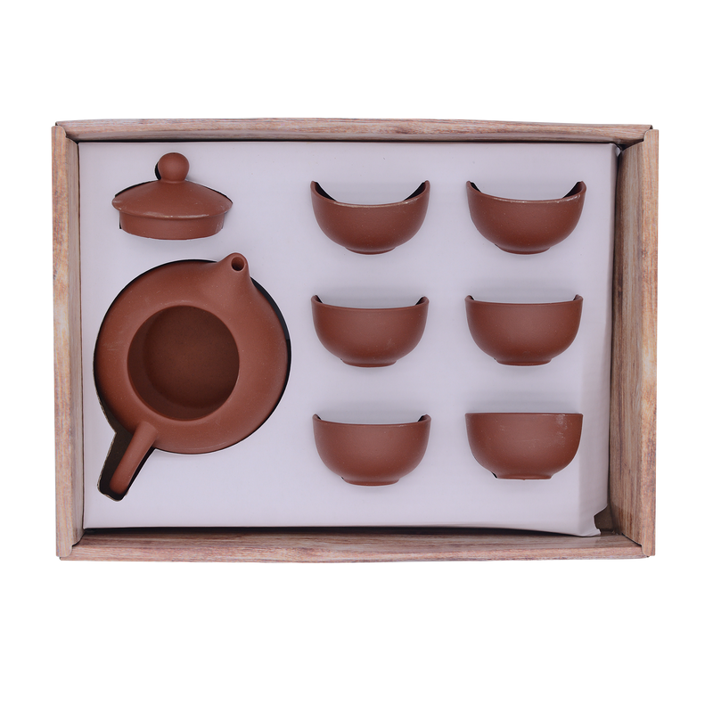 Tea Set (Brown) - Longdan Online Supermarket