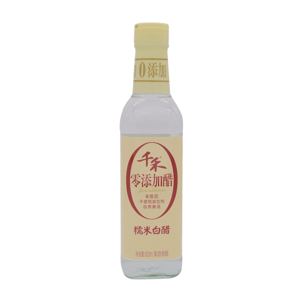 QianHe sticky Rice White Vinegar 500ml - Longdan Online Supermarket