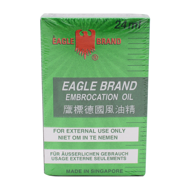 Eagle Brand Medicated Oil 24ml - Longdan Online Supermarket