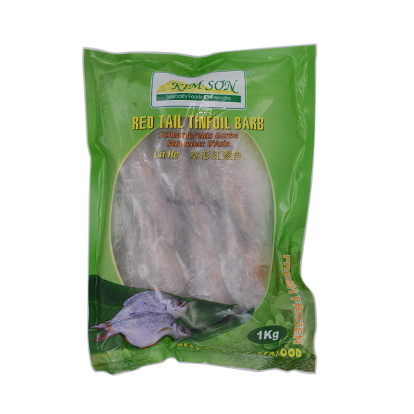 Kim Son Whole Cleaned Red Tail Tinfoil Barb 1kg (Frozen) - Longdan Online Supermarket