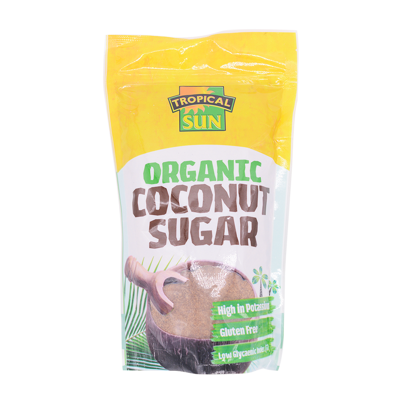 Tropical Sun Coconut Sugar Pouch 400g - Longdan Offical Online Store - UK Cash & Carry