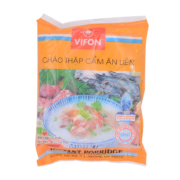 Vifon Inst Rice Porridge Mixed Flavour 50g