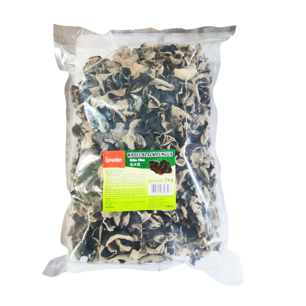 Longdan Whole Black Fungus 1kg