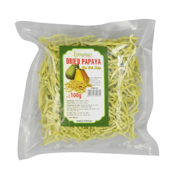 Longdan Dried Papaya 100G - Longdan Online Supermarket