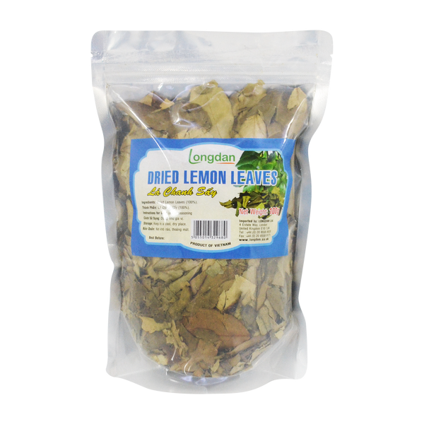 Longdan Dried Lemon Leaves 100g - Longdan Offical Online Store - UK Cash & Carry