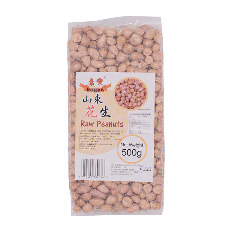 Honor raw peanuts 500g - Longdan Offical Online Store - UK Cash & Carry