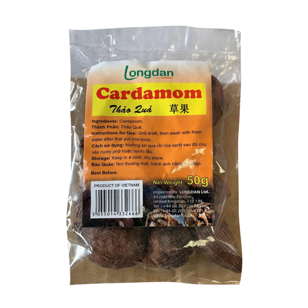 Longdan Cardamon 50g - Longdan Offical Online Store - UK Cash & Carry