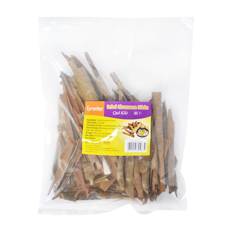 Longdan Dried Cinnamon Sticks 500g - Longdan Online Supermarket