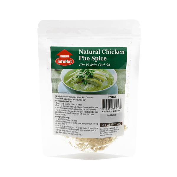 Tofuhat Natural Chicken Pho Spice 20g