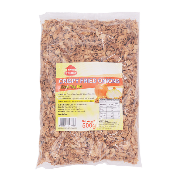 Tofu Hat Crispy Fried Onions 500g - Longdan Offical Online Store - UK Cash & Carry
