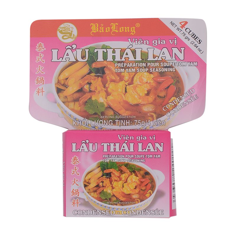 Bao Long Lau Thai Lan Seasoning 75g - Longdan Online Supermarket