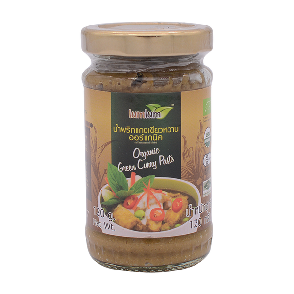 LumLum Organic Green Curry Paste 120g - Longdan Online Supermarket