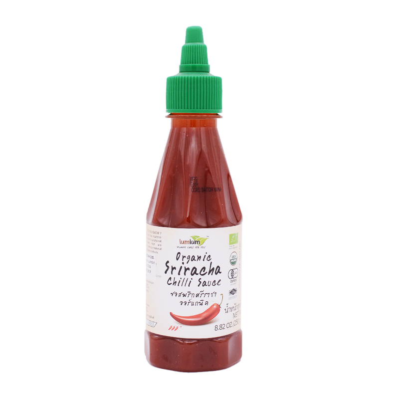 LumLum Organic Sriracha Chilli Sauce 250g - Longdan Offical Online Store - UK Cash & Carry