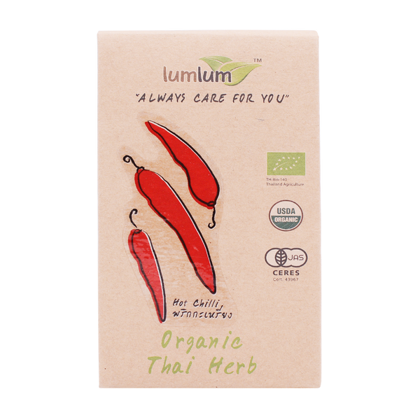 LumLum Organic Dried Hot Chilli 6g - Longdan Online Supermarket