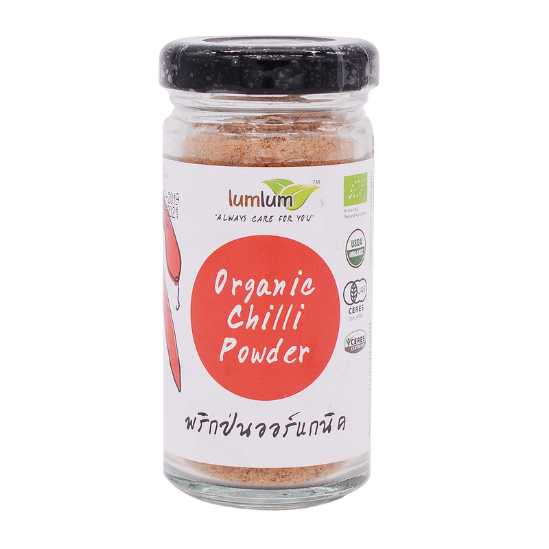 LumLum Organic Hot Chilli Powder 30g - Longdan Online Supermarket