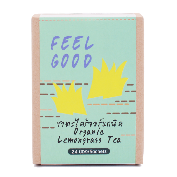 LumLum Organic Lemongrass Tea 24g - Longdan Offical Online Store - UK Cash & Carry