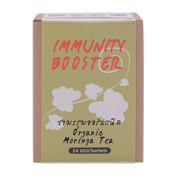 LumLum Organic Moringa Tea 24g - Longdan Offical Online Store - UK Cash & Carry