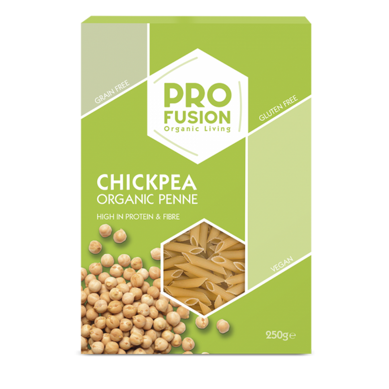 PROFUSION ORG Chickpea Penne 250g - Longdan Online Supermarket