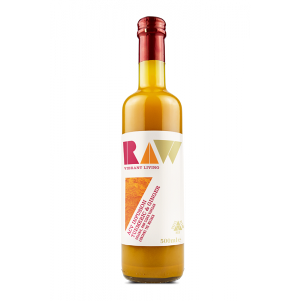 RAW HEALTH ORG ACV Infusion Turmeric & Ginger 500ml - Longdan Offical Online Store - UK Cash & Carry