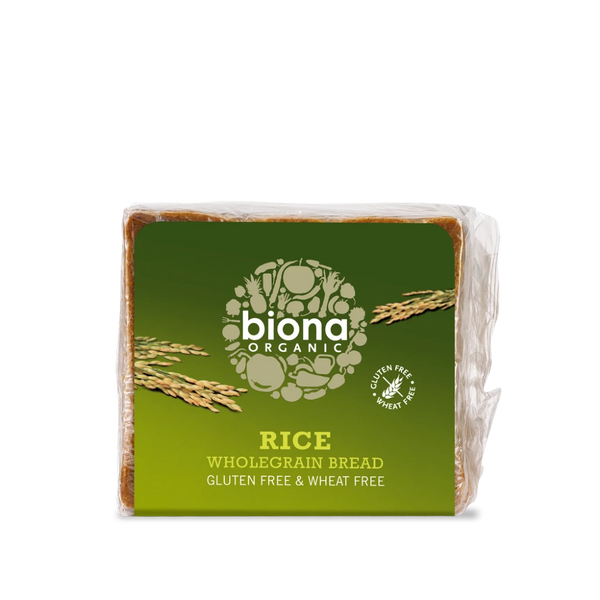 BIONA ORG GF Rice Bread 500g - Longdan Offical Online Store - UK Cash & Carry