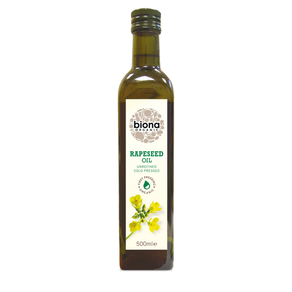 BIONA Organic Rapeseed Oil (cold press) 500ml - Longdan Online Supermarket