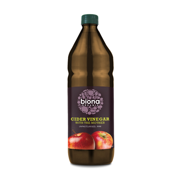BIONA Organic Cider Vinegar (unfiltered w/ mother) 750ml - Longdan Online Supermarket