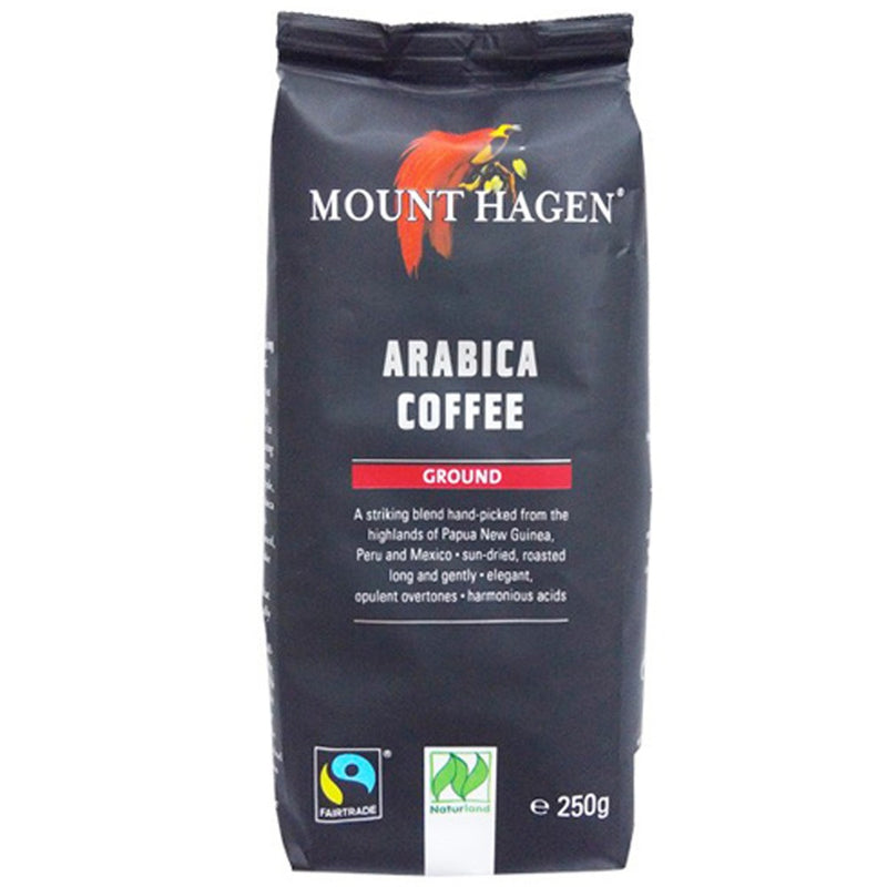 MOUNT HAGEN ORGANIC FAIR TRADE Arabica Filter Coffee 250g - Longdan Online Supermarket