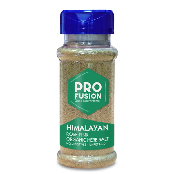 PROFUSION ORG Himalayan Rose Pink Herbal Salt-Fine Table shaker 100g - Longdan Offical Online Store - UK Cash & Carry