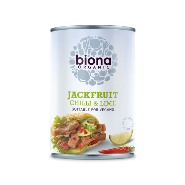 BIONA ORG Chilli Lime Jackfruit in Can 400g - Longdan Offical Online Store - UK Cash & Carry
