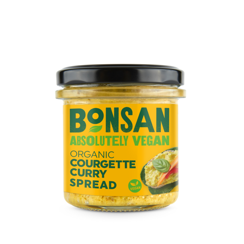 BONSAN ORG Courgette Curry Pate - Vegan 135g - Longdan Online Supermarket