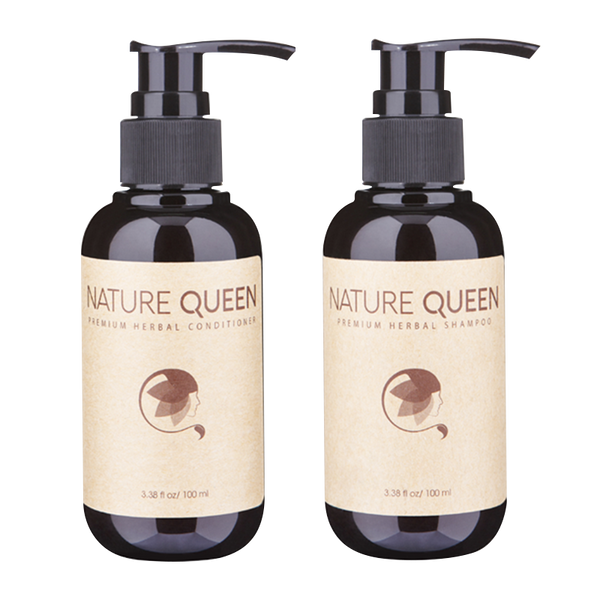 Nature Queen Shampoo And Conditioner 100ml - Longdan Online Supermarket