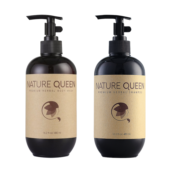 Nature Queen Shampoo And Body Wash 480ml - Longdan Offical Online Store - UK Cash & Carry