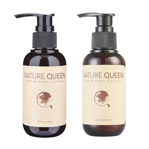 Nature Queen Shampoo And Body Wash 100ml - Longdan Offical Online Store - UK Cash & Carry