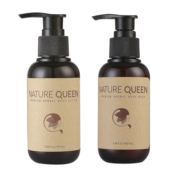 Nature Queen Body Lotion & Body Wash 100ml - Longdan Offical Online Store - UK Cash & Carry