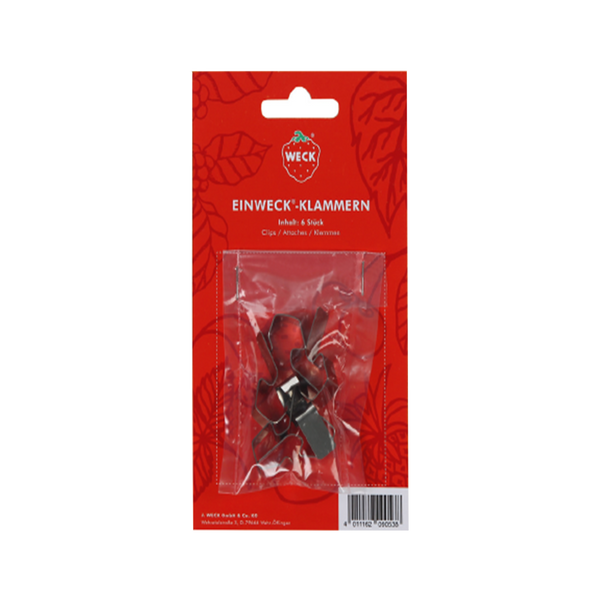 WECK Display Clips (Set of 6PCS) - Longdan Online Supermarket